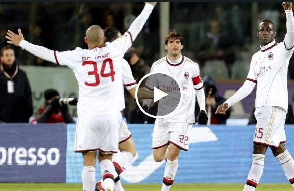ميلان وفيورنتينا 2-0