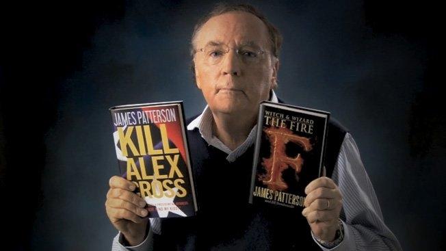 جايمس باترسون يتربع على عرش الكتاب الأكثر مبيعا