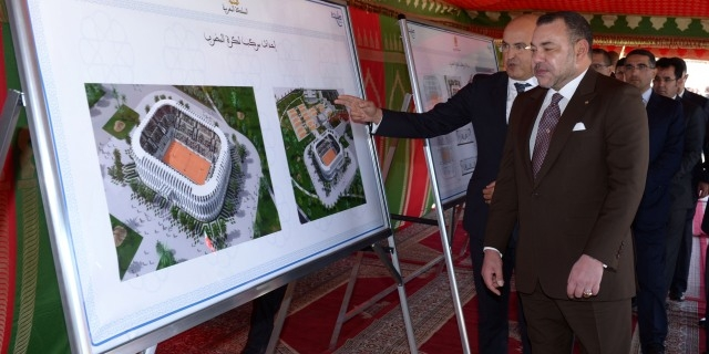 العاهل المغربي يطلق مشروع قرية رياضية بمواصفات عالمية في طنجة