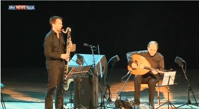 العازف أنور براهم يمتع جمهور مدينة الكاف