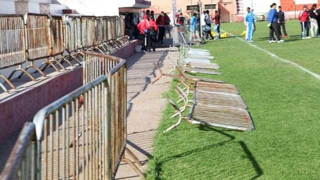 ايداع 8 أشخاص سجن عكاشة متورطون في الهجوم على لاعبي الوداد