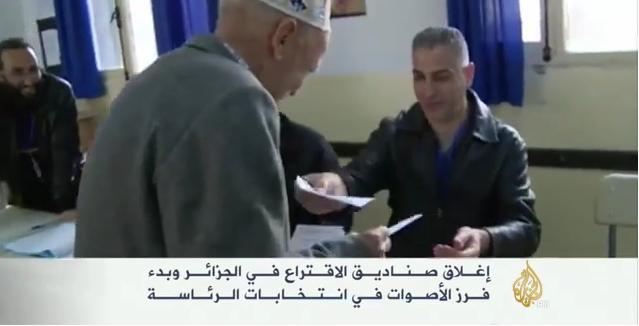 الجزائر: انتهاء الاقتراع وبدء فرز الأصوات