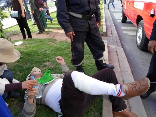 معطلون يطالبون بالإفراج عن زملائهم المعتقلين في سجن الزاكي بسلا
