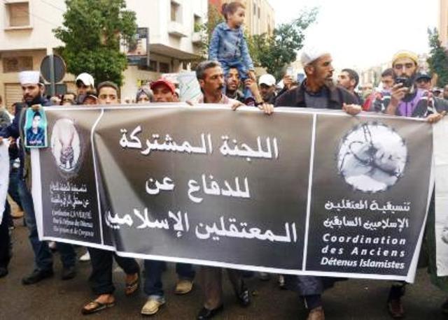 لجنة الدفاع عن المعتقلين الاسلاميين تصدر تقريرا عن وضعية السجناء المضربين بسجون المملكة