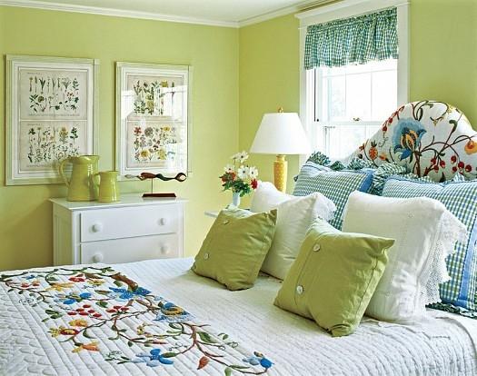 أفكار لتضيفي لمسات الربيع لغرفة نومك