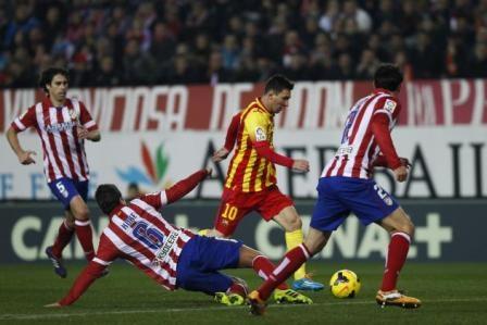 تعادل البارصا وأتليتيكو مدريد