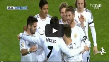 ريال مدريد واوساسونا 4-0