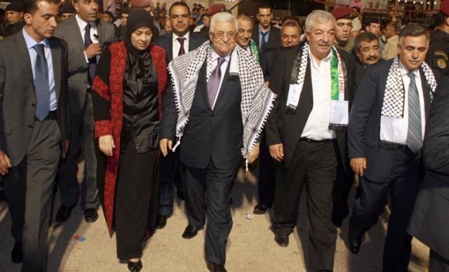 محمود عباس: حكومة التوافق الوطني بعد المصالحة  ستعترف باسرائيل