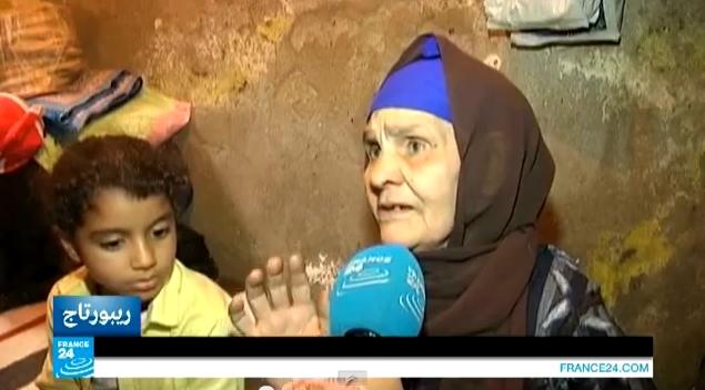 معاناة سكان العشوائيات بمصر