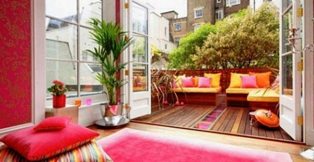 أفكار لتزيين الحديقة أو الشرفة المنزلية