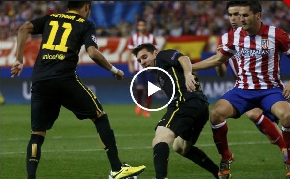 اتلتيكو مدريد وبرشلونة 1-0