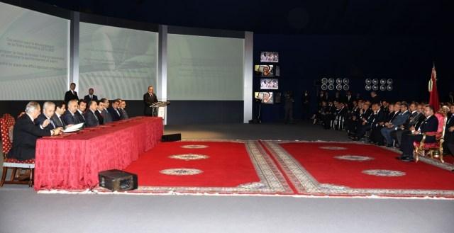 الملك يترأس بالدار البيضاء حفل إطلاق مخطط تسريع التنمية الصناعية