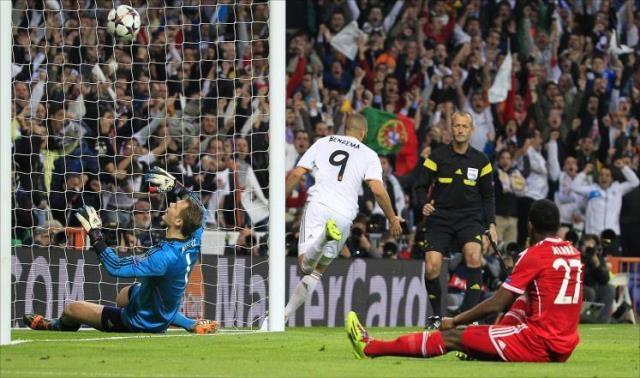 الريال يربح الجولة الأولى أمام البايرن في دوري أبطال أوروبا