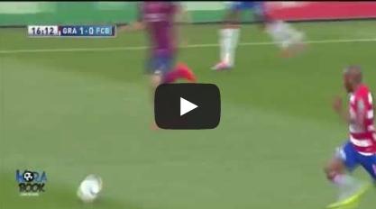 غرناطة 1 - 0 برشلونة