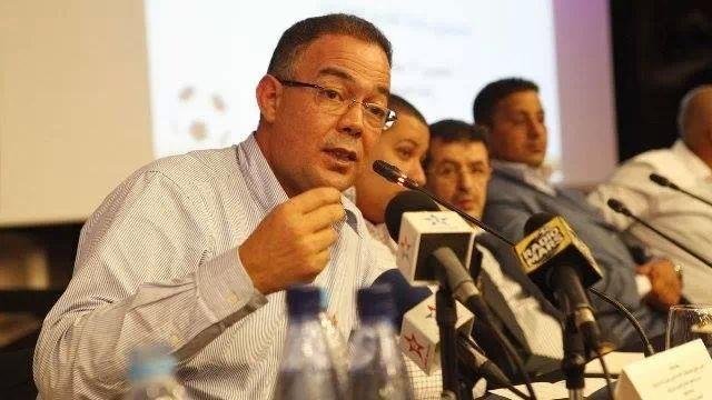 انتخاب فوزي لقجع رئيسا للجامعة المغربية