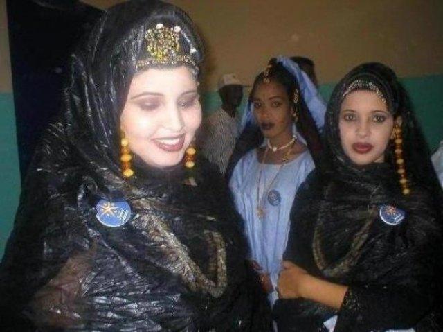 تأنقي بالملحفة الموريتانية