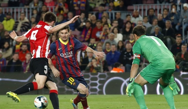 برشلونة واتلتيك بلباو 2-1