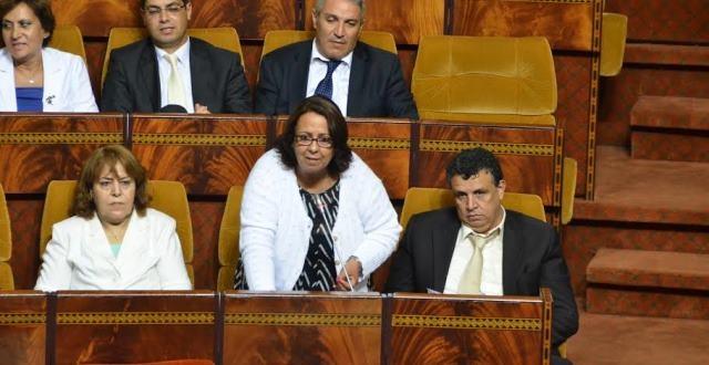 نبيلة بنعمر تبرز مكتسبات المرأة المغربية بقلب البرلمان الجزائري