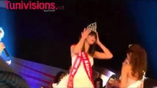 شاهد فيديو لملكة جمال تونس 2014 وهيبة عراس