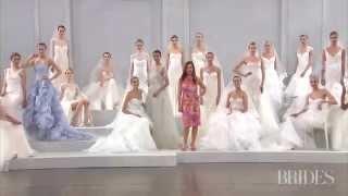 أسبوع الموضة للعروس في نيويورك مجموعة Monique Lhuillier لربيع 2015