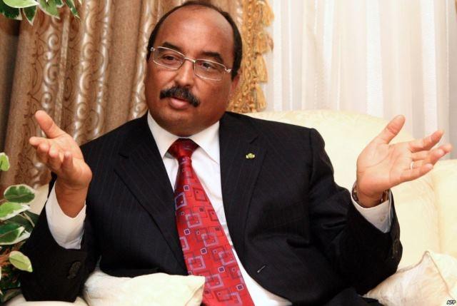ولد عبد العزيز : لا وجود لأية مشاكل لموريتانيا  في علاقاتها  مع المغرب