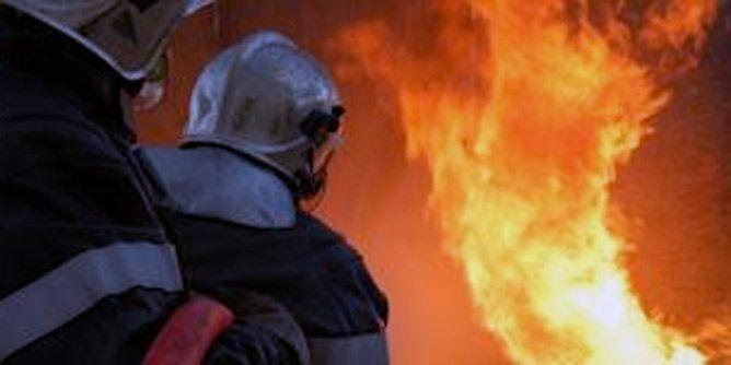 حريق مهول بمخزن لبنزين مهرب بصفاقس