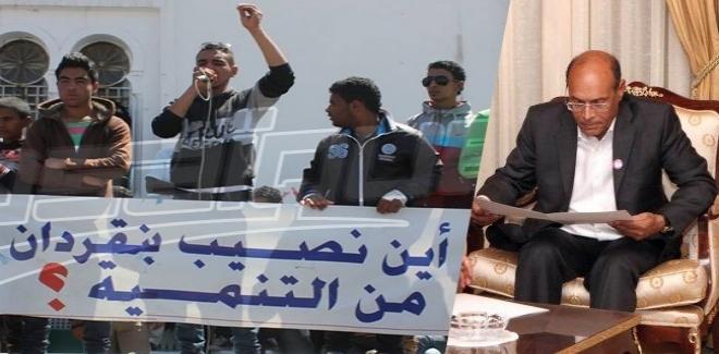 الرئاسة التونسية تتدخل لاحتواء الوضع في بنقردان