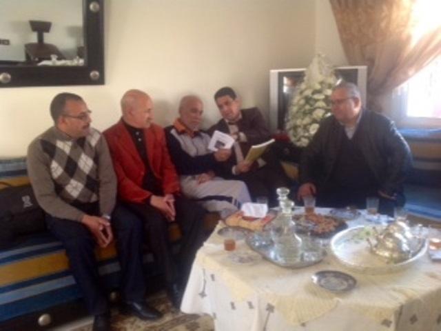 استقرار  الوضعية الصحية للأديبين المغربيين عبد الرحيم المؤدن وسعيد سوسان