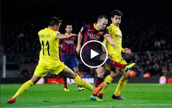برشلونة وفياريال 3-2
