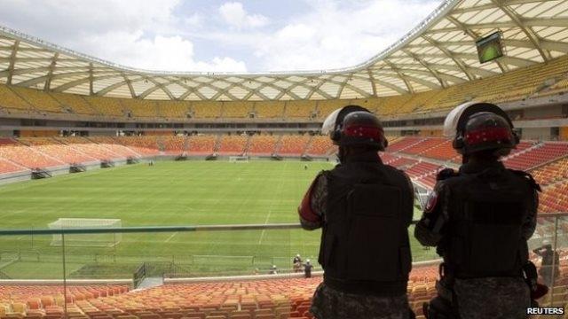 البرازيل تعتزم  الاعتماد على الشرطة العسكرية لتأمين المونديال