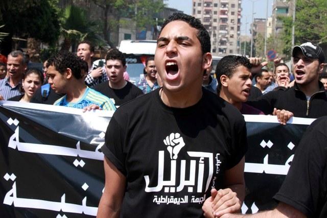 القضاء المصري يحظر حركة 6 أبريل