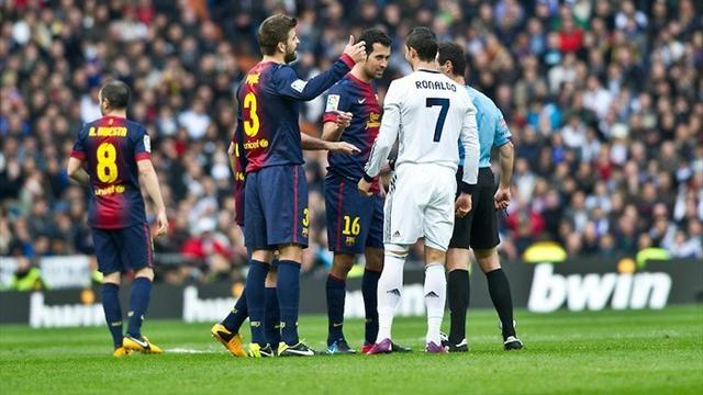 برنامج اسباني يبرز  أخطاء الحكام في انزل الريال وصعود برشلونة !