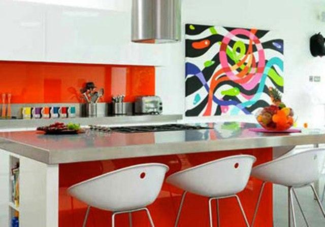 ألوان جريئة تجعل ديكور مطبخك مبهرا