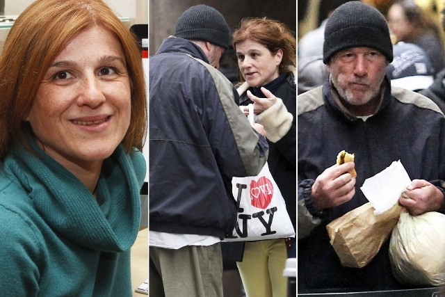 سيدة فرنسية تقدم بيتزا للممثل ريتشارد جير معتقدة أنه متشرد