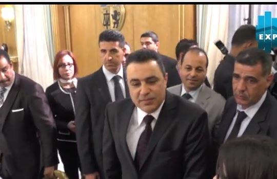 في أولى جلسات الحوار الإقتصادي مهدي جمعة يعتذر للصحافيين