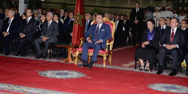 الملك يعطي انطلاقة برنامج التنمية الاقتصادية والحضرية لمدينة تطوان