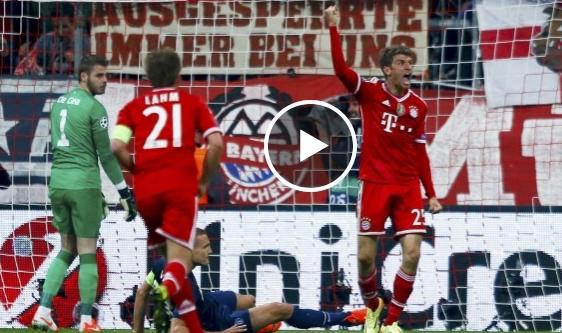 بايرن ميونخ ومانشستر يونايتد 3-1