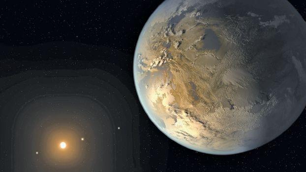 اكتشاف كوكب شبيه بالأرض خارج المجموعة الشمسية