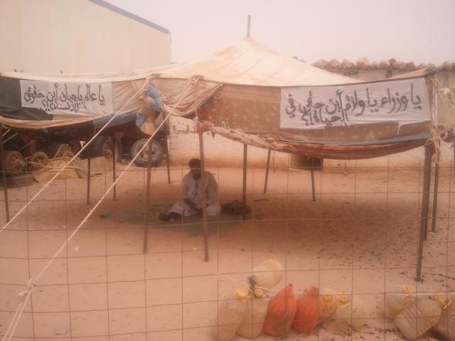 اختطاف البوليساريو للناشط الصحراوي محمد مولود بوسحاب بمخيمات تيندوف