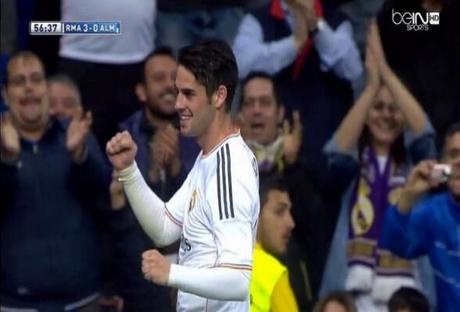 مدريد وألميريا 4-0