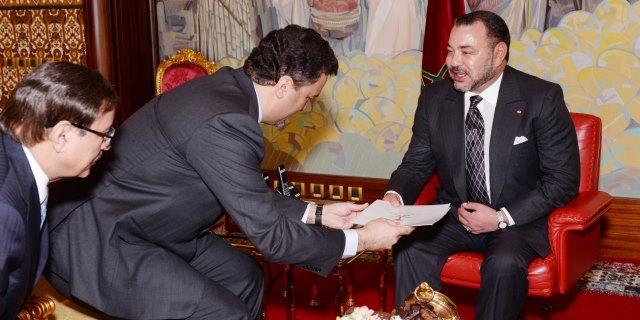 العاهل المغربي يستقبل الأمير السعودي بندر بن خالد الفيصل