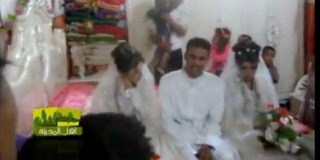 عراقي يتزوج اثنين في يوم واحد