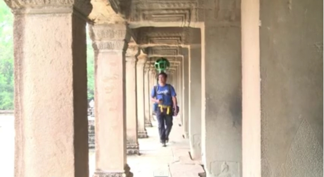 Google تقترح زيارة افتراضية داخل معبد أنغكور وات