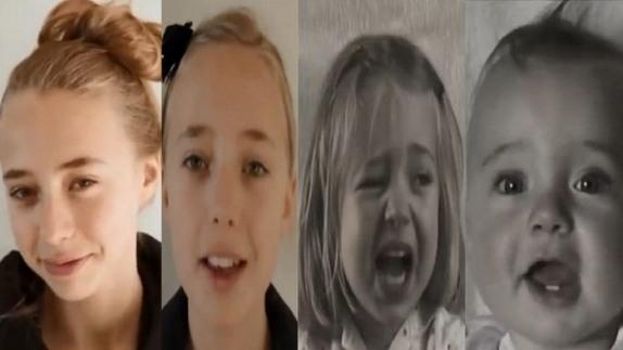 بالفيديو... 4 دقائق ترصد تحول طفلة إلى مراهقة