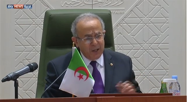 الجزائر تدعو لوضع قائمة عربية