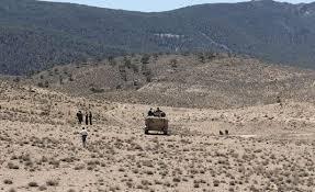 الجيش التونسي يواصل عملياته العسكرية بجبل الشعانبي