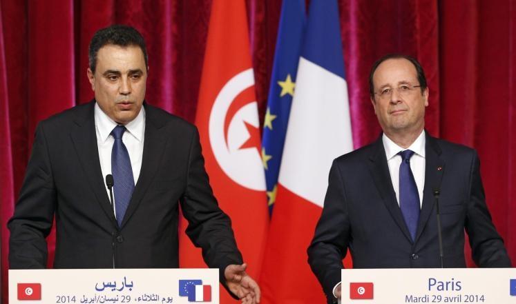 جمعة وهولاند يتباحثان مؤتمر لأصدقاء تونس
