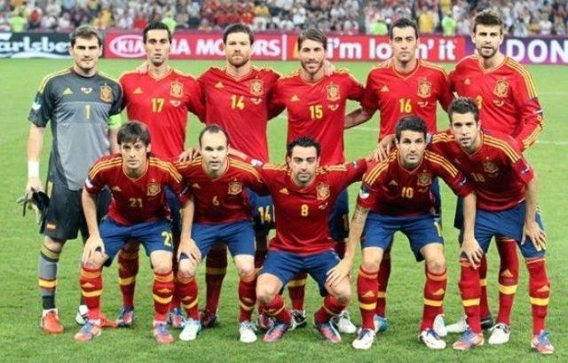 المنتخب الاسباني الأول عالميا في تصنيف الفيفا