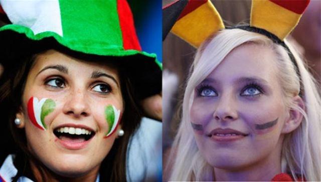 استلهمي مكياجك من وحي كأس العالم