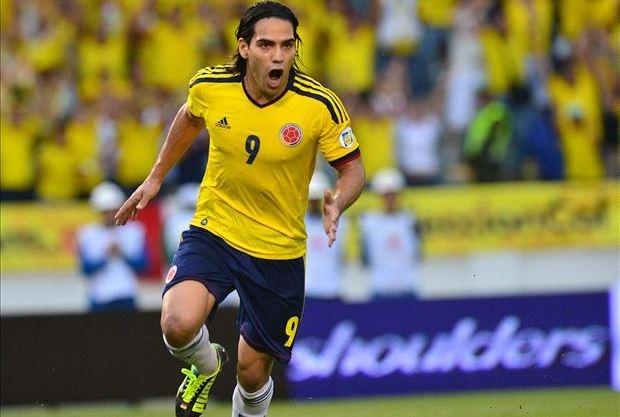 فالكاو تدرب مع كولومبيا ويقترب من المونديال